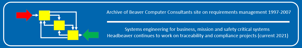 Beaver Computer Consultants - Consultants in systems engineering for business, mission and safety critical systems
